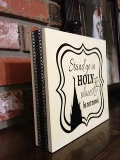 Stand in Holy Places Crafts | 2013 YW Theme - Stand ye in HOLY places & be not moved - Young Women's ...
