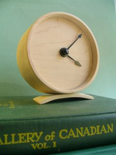 Maple Wooden Clock