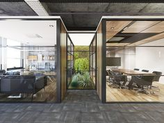 Caudalie Ofis - Eslipse Plaza, Maslak, İstanbul - 2017 For more: www. Open Concept Office, Open Space Office, Loft Office, Glass Office, School Office Design, Open Office Design, Loft Industrial, Industrial Office Design, Workspace Design