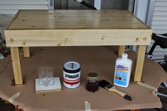 D&GFunPark: Do It Yourself: Living room table!