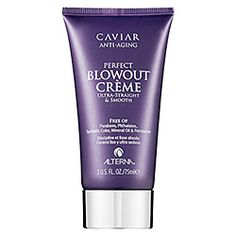 ALTERNA Caviar Blowout Creme $25.00 This nourishing styling cream adds luster, eliminates frizz, reduces drying time, and gives hair an ultra-smooth finish. The formula conditions and enriches hair, allowing for easier brush glide and provides protection against damage from heat-styling tools. Want to try this after my Livingproof is gone.
