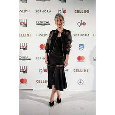 VIP & PRESS - Alina Cernatescu #alinacernatescu #romaniandesigner #couture #eveningwear  #dress #vip #asseenon Elle Style Awards, Sephora, Vip, Stylists, Shades, Couture, Jackets, Outfits, Black