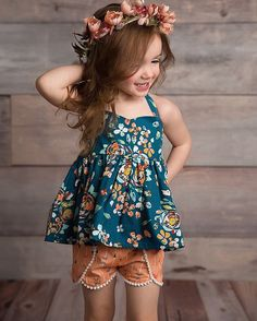 this cutie wearing #ArtGalleryFabrics.... #Fabrics #ArtGallery #fashion #kids