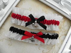 Mickey Mouse/Disney Bridal Garter Set by MyHairCandyCouture, $25.00