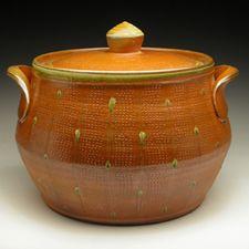 Nicholas Seidner.Rising Meadow Pottery. In partnership with his salt/soda kiln.