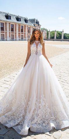 Designer Highlight: Milla Nova Wedding Dresses blush cap sleeves lace wedding dresses milla nova 2018 See more: www.weddingforwar... #weddingforward #wedding #bride #bridalgown #wedding #weddingideas #weddings #weddingdresses #weddingdress #bridaldress #bridaldresses