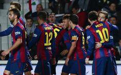 Al Barça le basta la conexión Messi-Neymar para hacer un set al Elche +http://brml.co/1COWz0x
