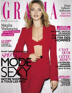 Grazia France 8th March 2013 Natalia Vodianova