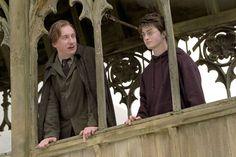 Harry and Remus in The Prisoner of Azkaban