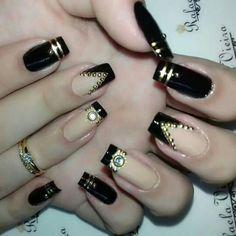 designer nail art designs für 2016 2017 - style you 7 Crazy Nails, Fancy Nails, Nail Art For Girls, Nail Art Designs 2016, Gel Nails French, Trendy Nail Art, Elegant Nails, Beautiful Nail Art, Bling Nails