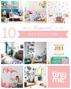 10 Tropical Kids Bedrooms ~ Tinyme