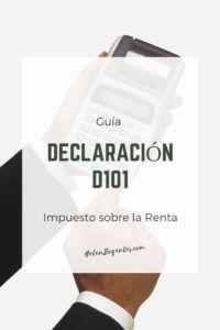 Declaración D101 Impuesto sobre la Renta Digital, Blog, Income Tax, Places, Blogging