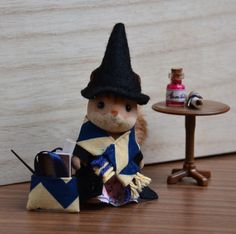 Ravenclaw Calico Critters Squirrel girl  15 by CatzillasMinis