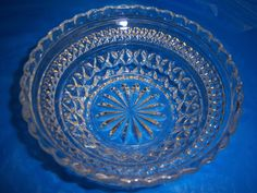"crystal 5 1/4"" candy dish fruit/berry/cereal bowl VINTAGE picclick.com"