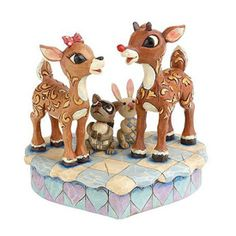 "jim shore rudolph | Product Detail - 7"" Jim Shore Rudolph & Clarice Figurine by Enesco"