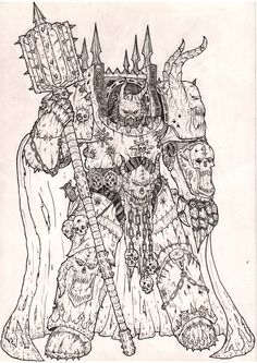 """anononiagent: """" Chaos Lord by MyDeads """""""