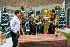 Brighten up your Christmas Tree with Orly Shani's DIY Golden Star Tree Topper! Tune in to Home & Family weekdays at 10a/9c on Hallmark Channel!