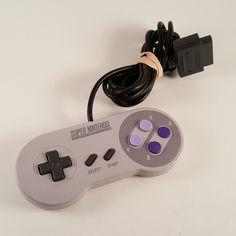 Genuine Super Nintendo SNES Controller Retro OEM SNS-005 TESTED - FREE SHIPPING! #Nintendo