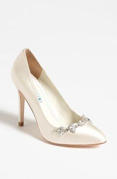 David Tutera 'Tiara' Pump | Nordstrom I think these would be both too high and too hot, but they would match!