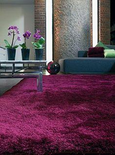 Teppich modernes Design WHISPER RUG PLUM 160 cm x 230 cm https://www.amazon.de/dp/B017RBDQ46