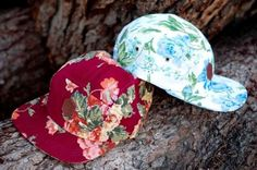 Sly Guild Flower Print Caps - What's Wearing Wednesday's