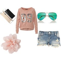"""""""cute pink"""" by ewitham-1 on Polyvore"""