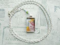 """Everlasting"" Handmade Glass Pendant Necklace by turquoiseeye, £12.20"