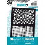 Carabelle Studio Art Texture Plate - Quadrillages [TEX0002]