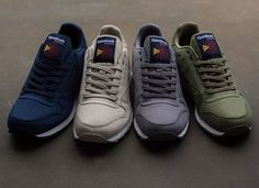 Reebok Classic Leather Clean Textile