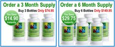 Nature's Youth cholesterol defense supplements contains of niacin and the effective Cholesterol Defense Proprietary Blend which encourages cholesterol and triglyceride regulation within the body. On buying 3 month supply, consumers can save $14.90 and for 6 month supply, users can save $29.75.