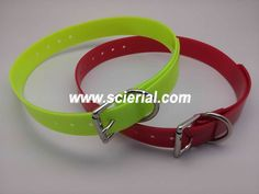 PVC dog collar, waterproof TPU dog collar, hunting dog collar with zinc alloy buckle and D-Ring. The hunting dog collar can be customized for the color, buckle and size. For more, please visit www.scierial.com or direct email to sara@scierial.com