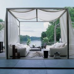 Open Air LivingRoom - Home - Atelier Turner [the design blog] - interior architecture and interior design: residential and hotel design   Pinterest