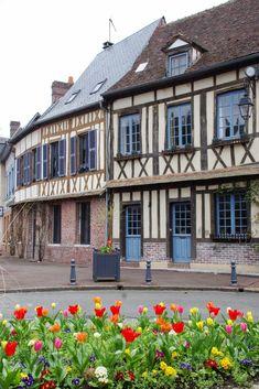 France, Lyons La Foret, Region Normandie, Beaux Villages, Blog Voyage, Week End, Camping, Mansions, House Styles