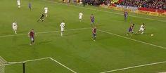 22 FEB. 2014 / EPL / v. Crystal Palece / Selhurst Park / 6 min. Wayne Rooney #MUFC #GIF