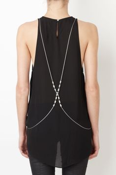 Glow-T: Unpredictable: Sass & Bide IN LOVE WITH ROMANCE Snake Chain Harness