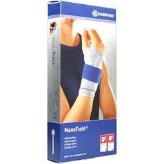 MANUTRAIN Handgelenkbandage rechts Grösse 4 titan:   Packungsinhalt: 1 St Bandage PZN: 01285921 Hersteller: Bauerfeind AG / Orthopädie…
