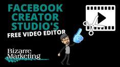 Facebook Creator Studio Free Video Editor Creator Studio, The Creator, Editor, Marketing, Facebook, Free