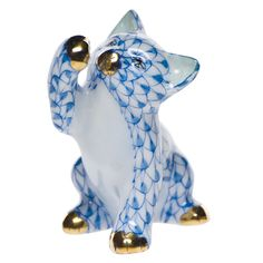 cat figurines | ... cat figurines prev next back to herend porcelain cat figurines