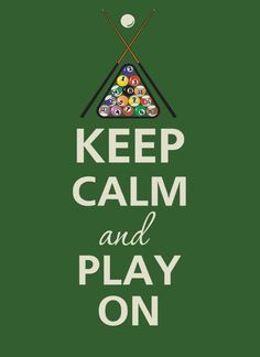 Bowlium Lanes welcomes the APA for pool league night every Tuesday and Wedsday nights in the bar. Keep Calm and Play On! Billard Snooker, Pool Table Room, Pool Tables, Club Sportif, Billiards Game, Poker, Play Pool, Pool Cues, Billiard Room