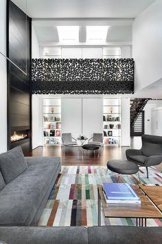 Living Room Interior Design ByGestion René Desjardins