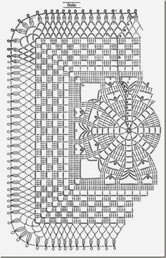 b a Free charted pattern for vintage-look coasters by Anabelia Crochet Motif Patterns, Crochet Mandala, Crochet Diagram, Crochet Chart, Crochet Squares, Thread Crochet, Crochet Granny, Filet Crochet, Crochet Designs