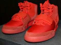 "dcc3a9d0bec4dc Nike Air Yeezy 2 ""Red October"" (35 Detailed Pictures) Yeezy 2 Red"