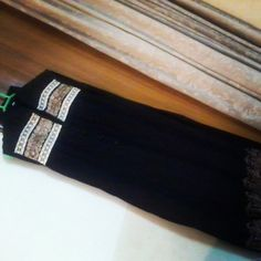 Linen border embroided Dress with plazo. Price:3500 Cash on delivery  Free home delivery For order:Direct msg.