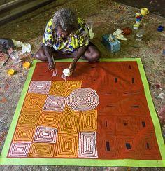Our Studio | Mimi Art Gallery Rosie Nampitjinpa