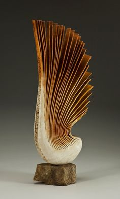 ♀ wood art sculpture Christian Burchard