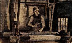 Weaver 2 Vincent Van Gogh Reproduction | 1st Art Gallery
