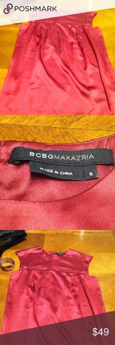 *Sale* BCBG 100% Silk Dress - Like New Beautiful BCBG Dress - Like New.  100% Silk - Size Small. Make an Offer or Bundle Discount BCBG Dresses
