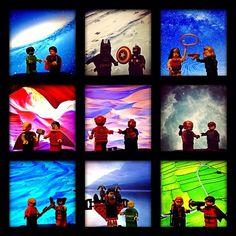 """The Lego Movie part 2: Justice League vs Avengers ... #justiceleague #avengers #lego #dcvsmarvel #dccomics #marvel #hulk #superman #batman #captainamerica #wonderwoman #blackwidow #thor #shazam #flash #spiderman #ironman #greenlantern #aquaman #wolverine #nightwing #ironfist #hawkeye #robin"" Photo taken by @meddiejusuf on Instagram, pinned via the InstaPin iOS App! http://www.instapinapp.com (03/31/2014)"