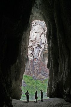 Look hard enough and you might just stumble upon something extra special. Like a secret cave.
