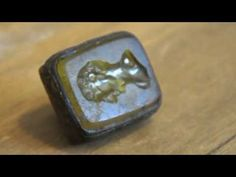 Video of a great little metal detecting find. A wax seal but how old might it be?